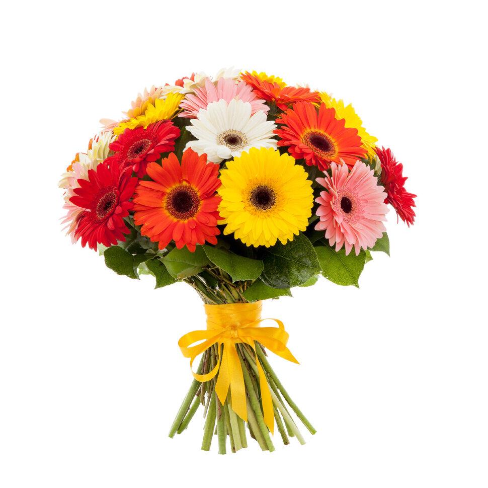 Букеты коробках, яркий букет цветов для девушки
