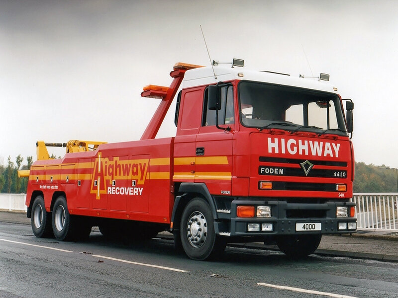 Foden 4410 Recovery