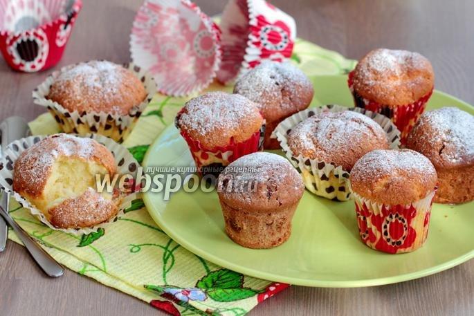 Кексы с ягодами рецепты в силиконовых формочках