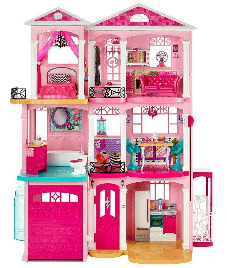 Цена кукольного домика барби