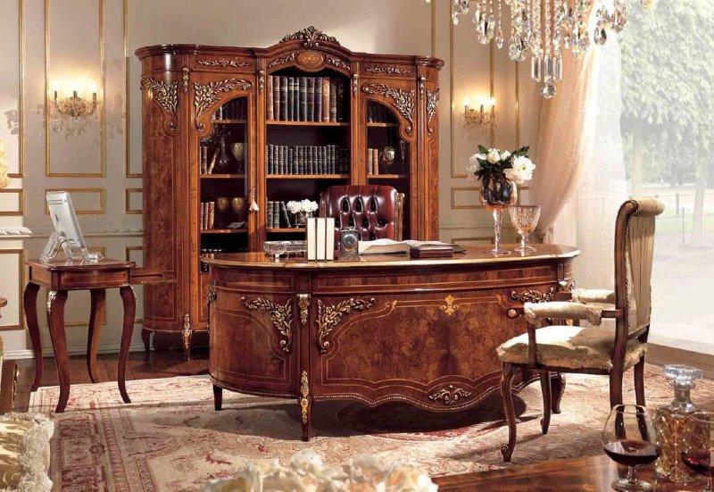 домашний кабинет в классике