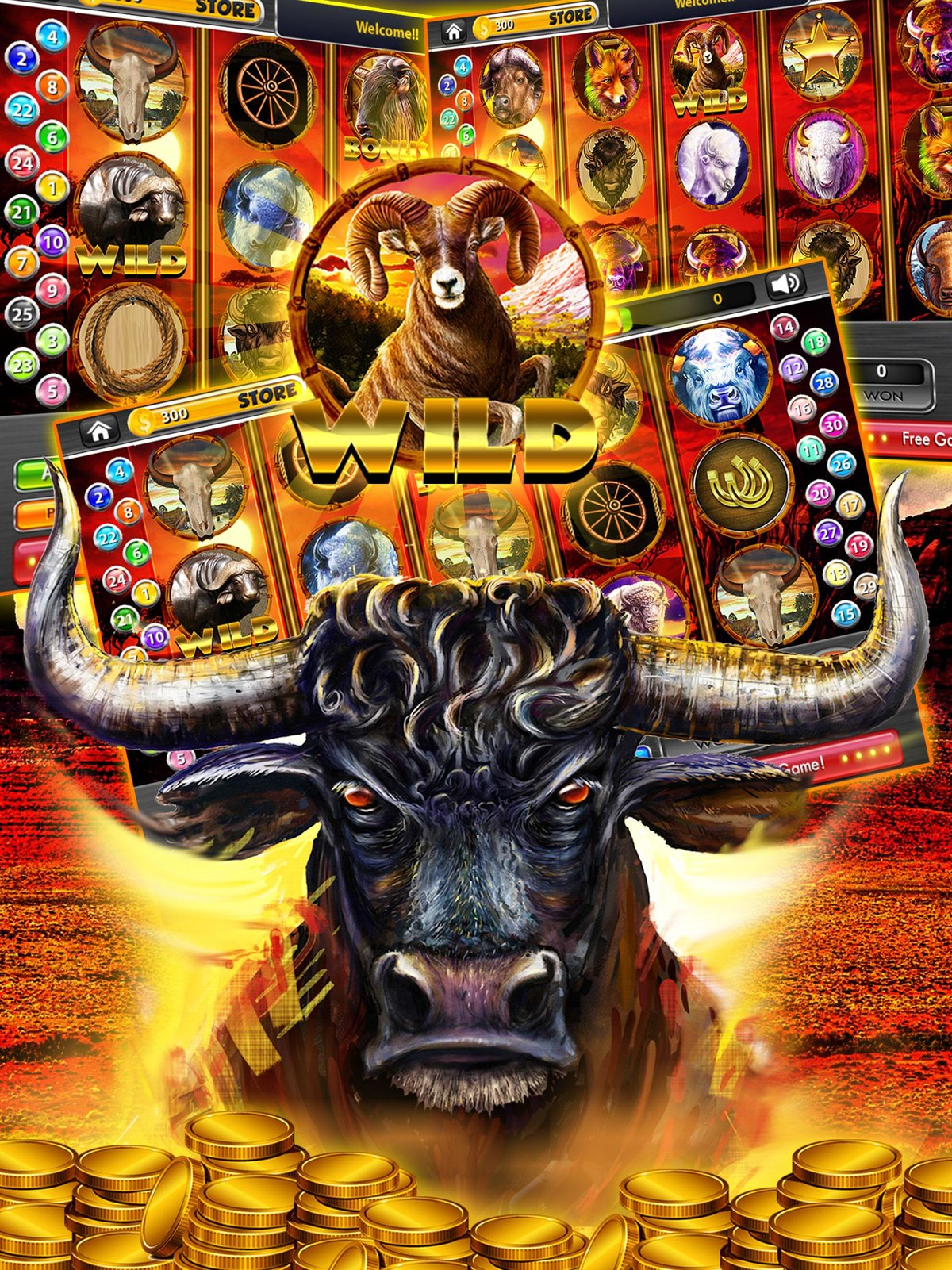 Buffalo slot machine android