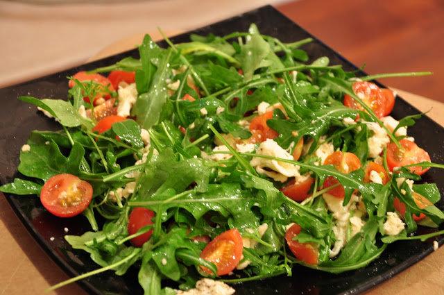 рукколой с рецепты фото с салат