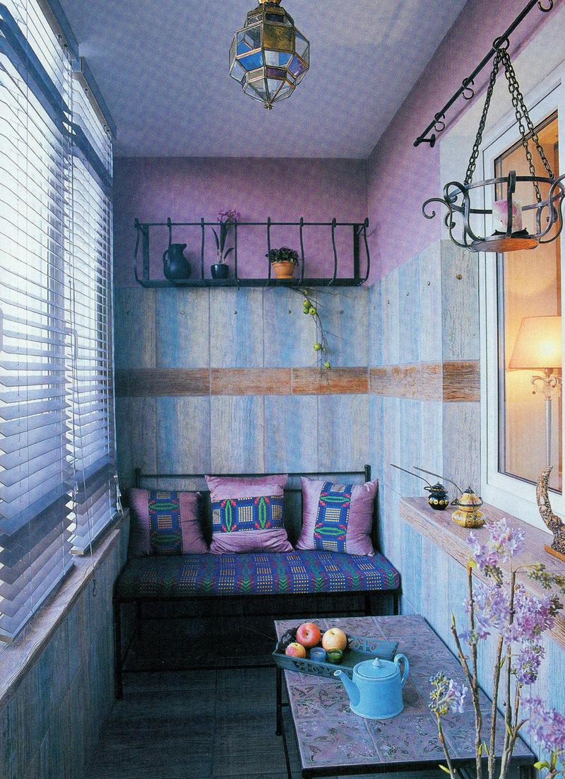 Балкон в стиле прованс фото.