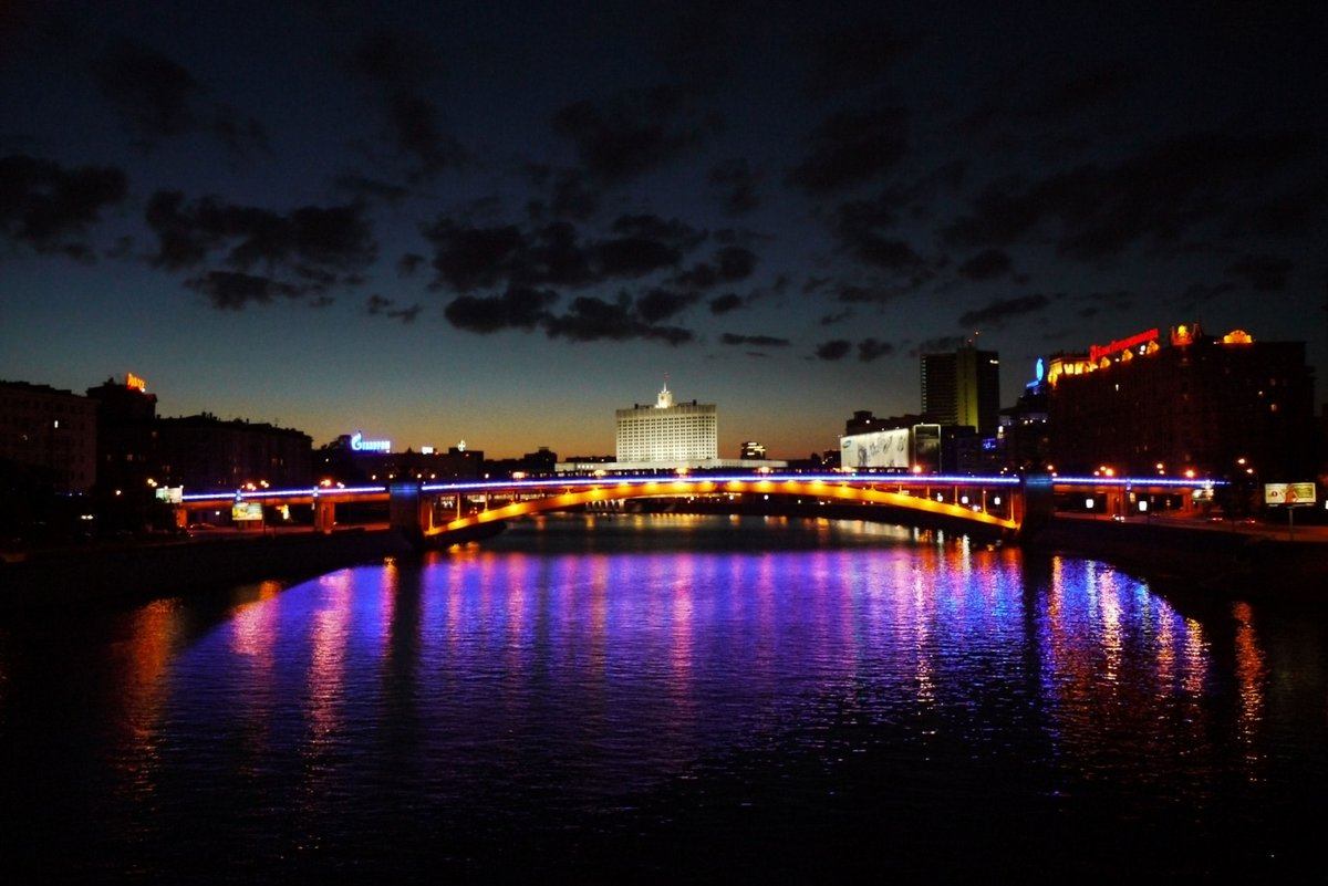 Места ночной фотосъемки в москве