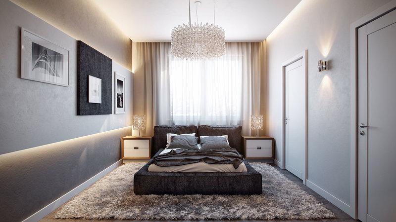 Интерьер квартиры-студии от Александра Зензуро