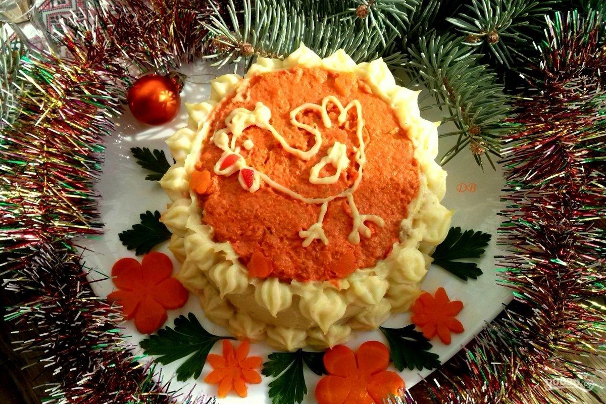 торт к новому году рецепт с фото группы своими руками