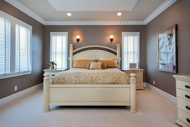 руководство игры цвета стен для спальни под покраску фото интерьер