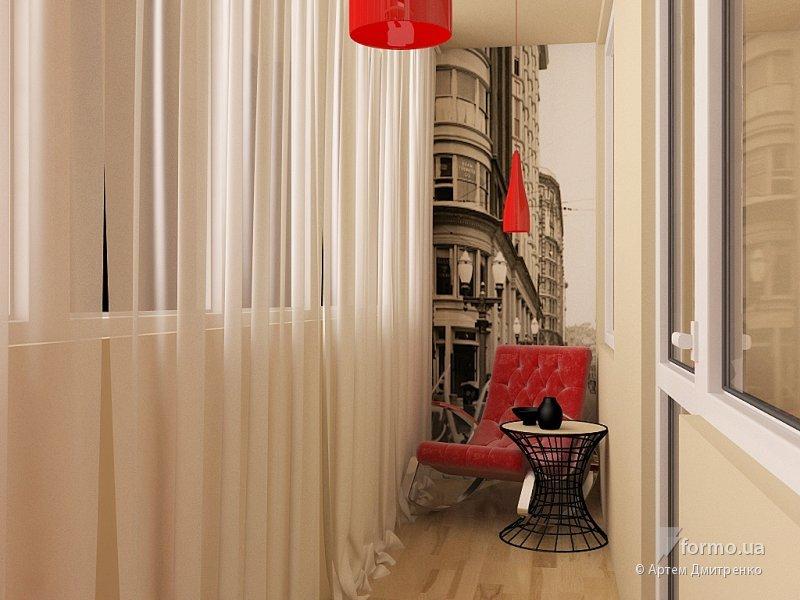 """Балкон с красным цветом"""" - карточка пользователя tania.45 в ."""