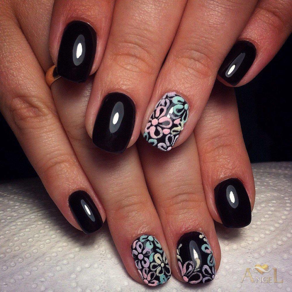 Ногти Шеллак Зима Фото