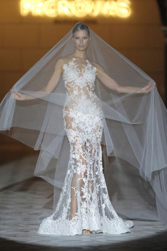 Сексуальное платье для невесты