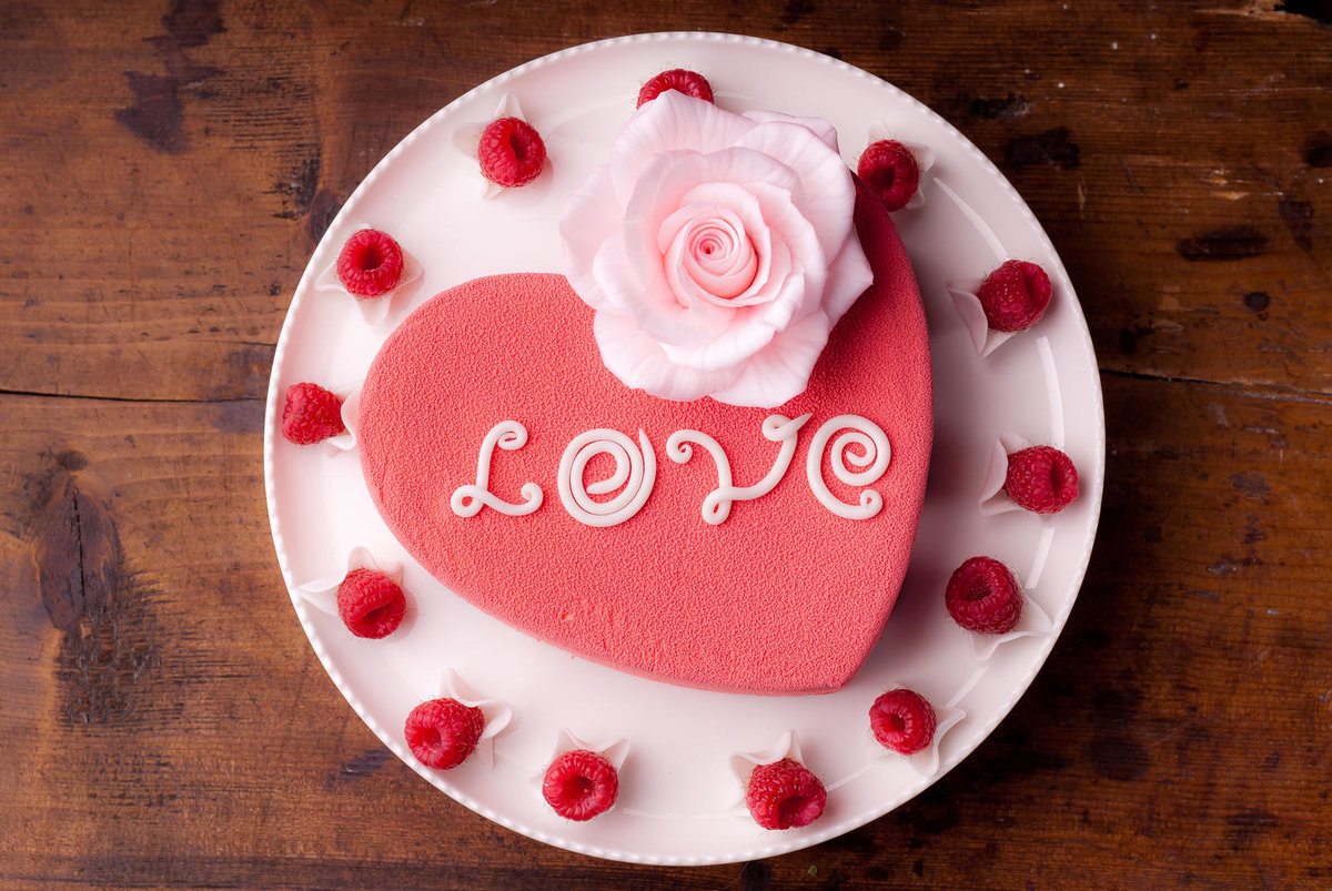 Я тебя люблю на торте картинки