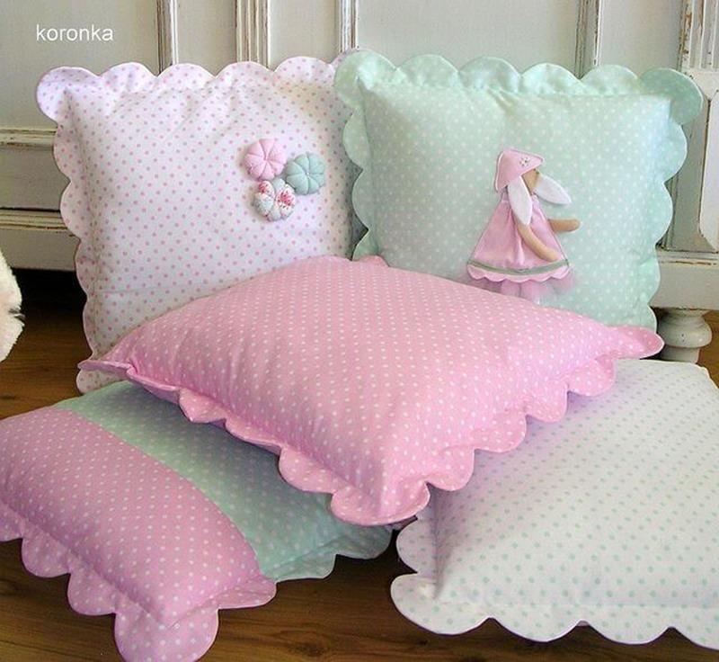 Декоративные детские подушки своими руками фото