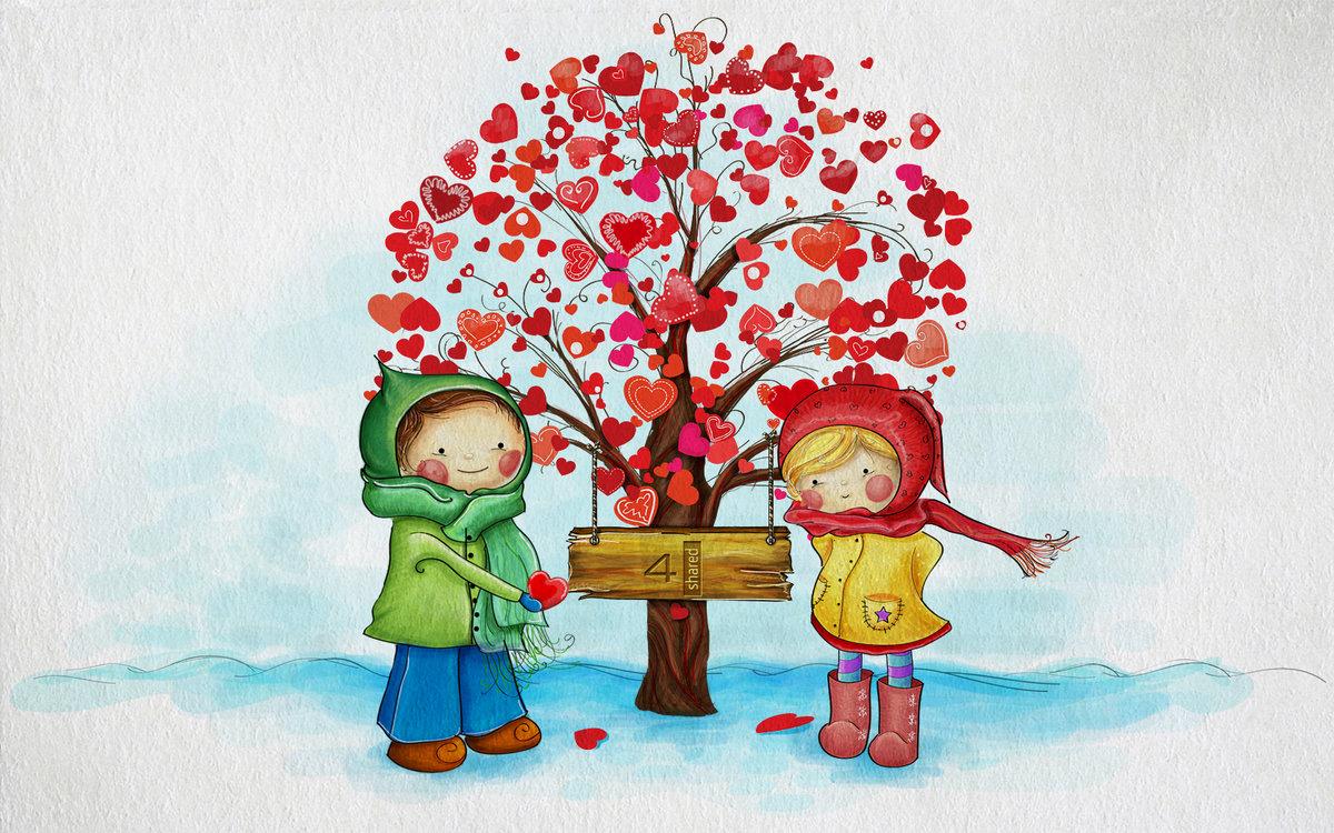 Сентябрем, день святого валентина картинки для детей