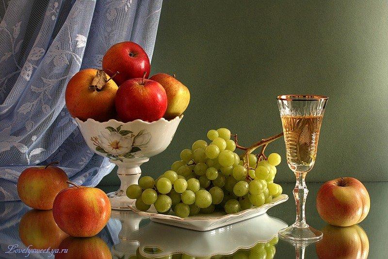 Открытка ваза с фруктами, смешные стихи картинки