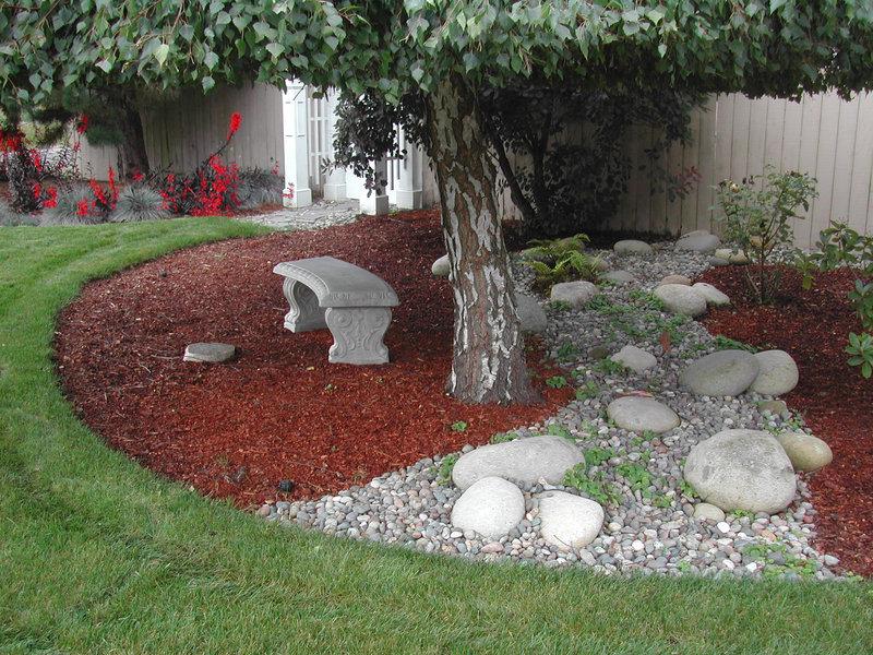 Красивый ландшафтный дизайн своего садового участка.