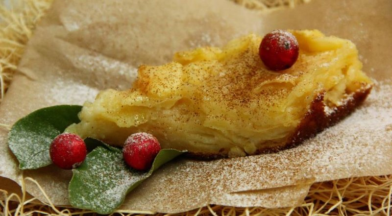 Морковно яблочный пирог рецепт с фото