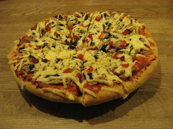 Тесто для пышной пиццы рецепт пошагово
