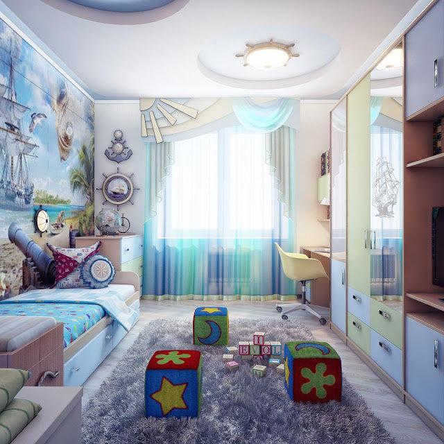 Какой цвет лучше подойдет для детской комнаты: правила сочетания и 11