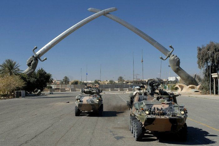 Мечи Кадисии (Hands of Victory). Ирак