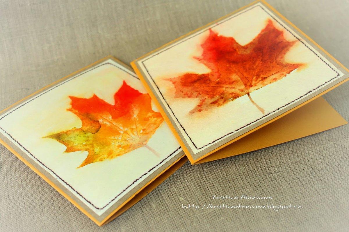 Картинки нарисованные, открытки с кленовыми листьями скрапбукинг
