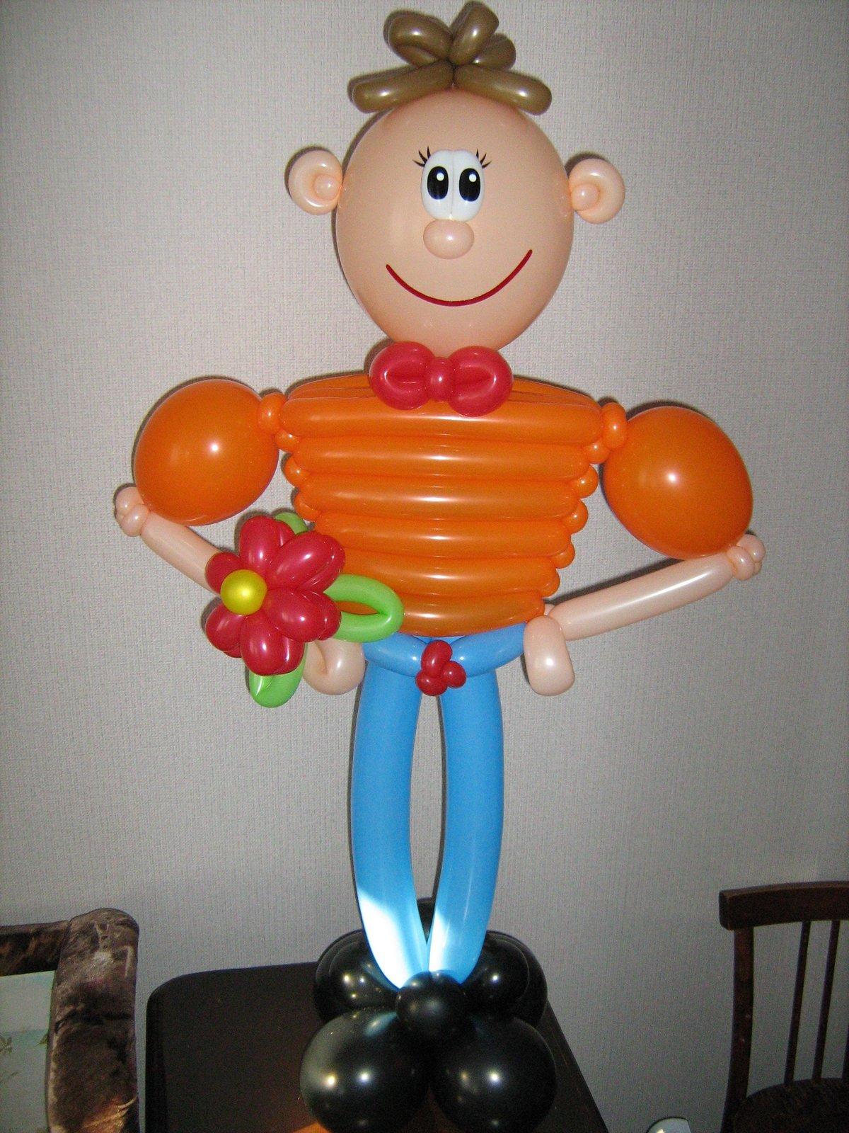 поделки из воздушных шаров