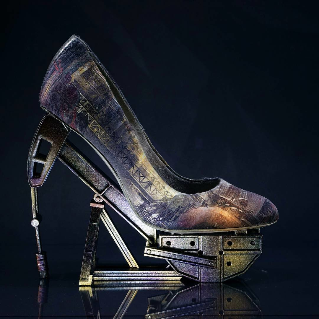 Фото необычных каблуков