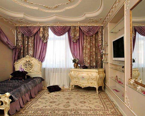 Текстиль для комнаты в викторианском стиле
