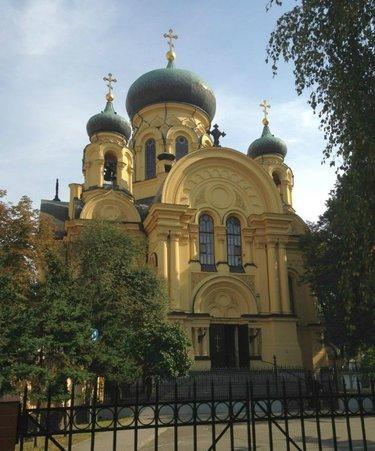 православный собор в варшаве