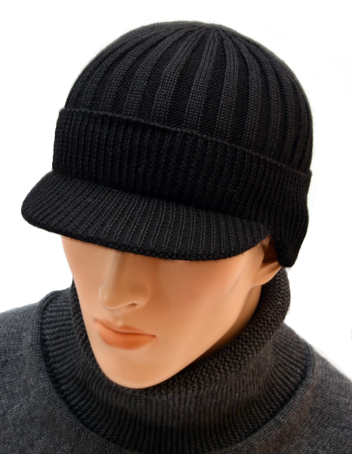 шапка с козырьком купить