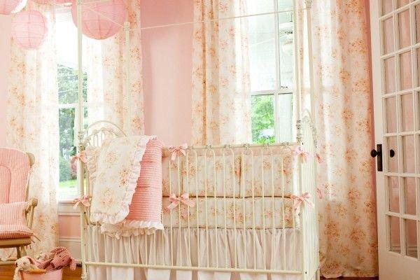 Детская. В шторах шебби-шик объединяются нарядность и функциональность.