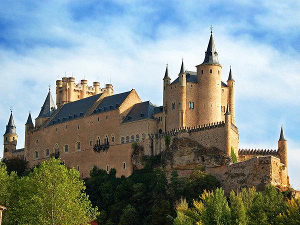 Замок Алькасар в Сеговии - Segovia Castle - Фото и статья