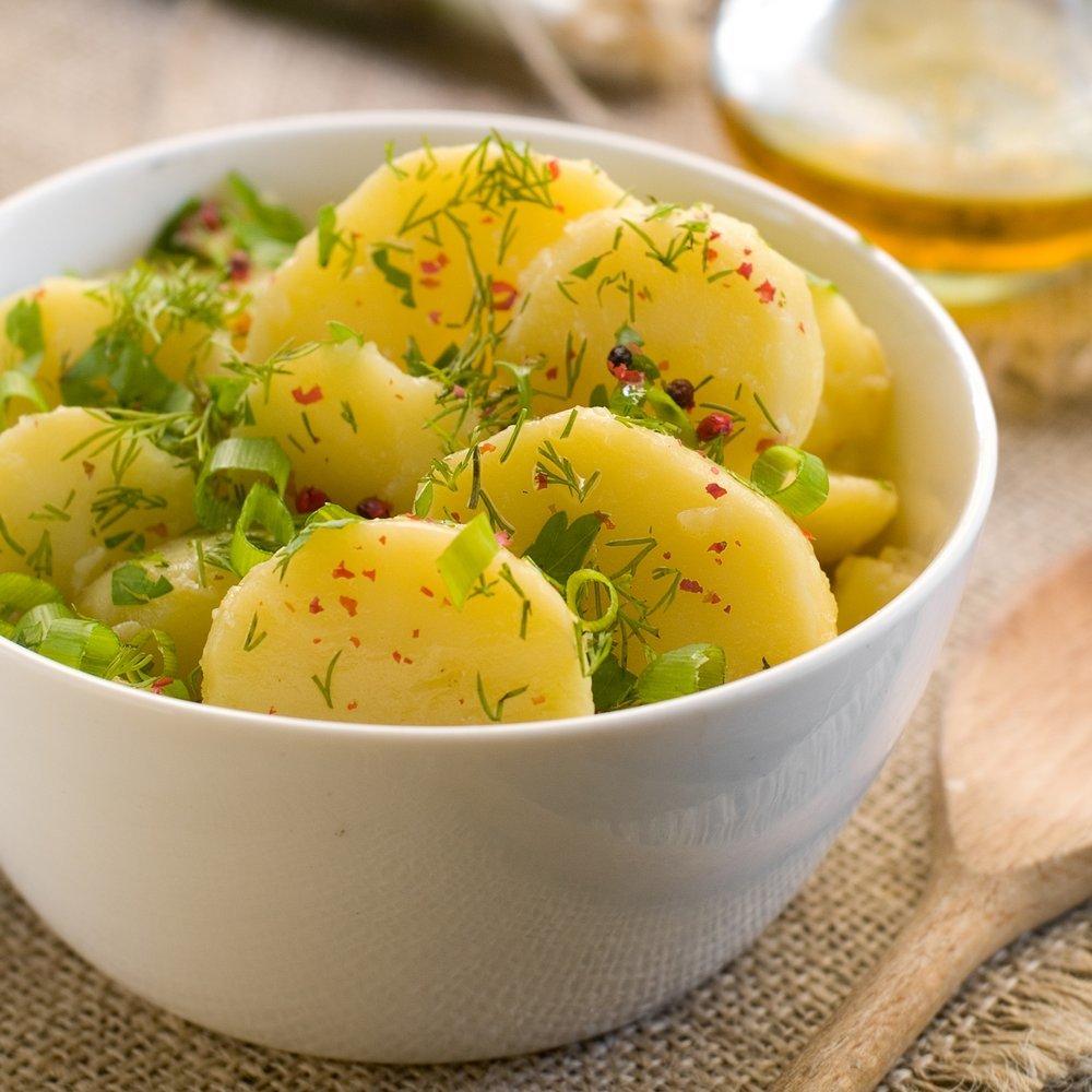 фото вареного картофеля горка