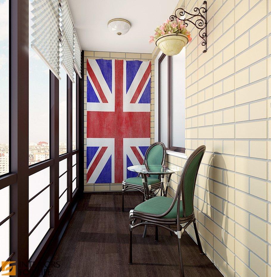 """Лофт для балкона и декоративная кирпичная кладка"""" - карточка."""