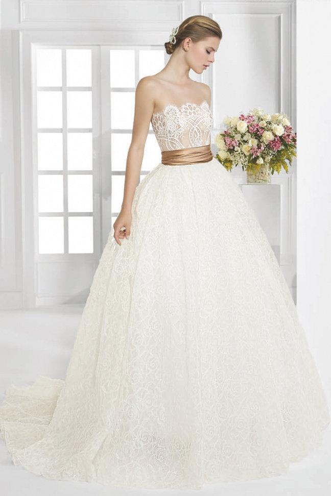 Испанский дизайнер свадебные платья