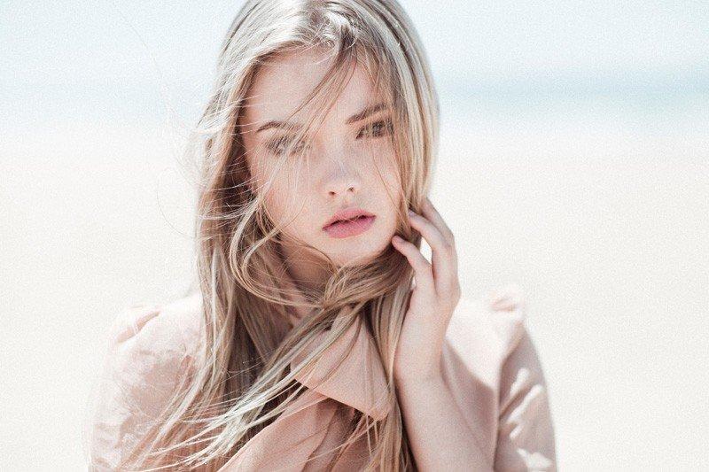 блондинка девушка картинка фото