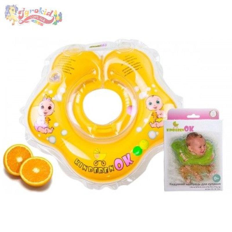 Круг для купания младенца KinderenOK - Апельсинчик