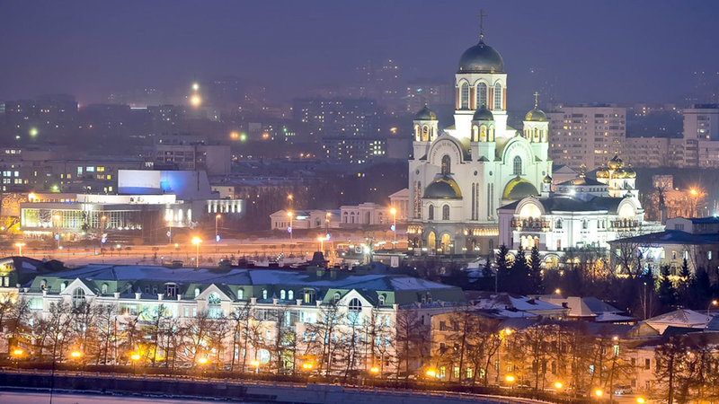 Храм-на-Крови Екатеринбург, Святой квартал, 1