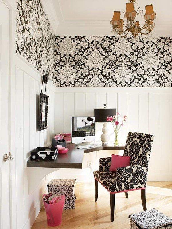 Дизайн кабинета для молодой женщины
