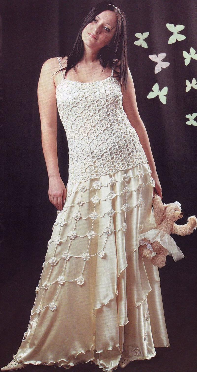 Платье связанное крючком купить тюмень