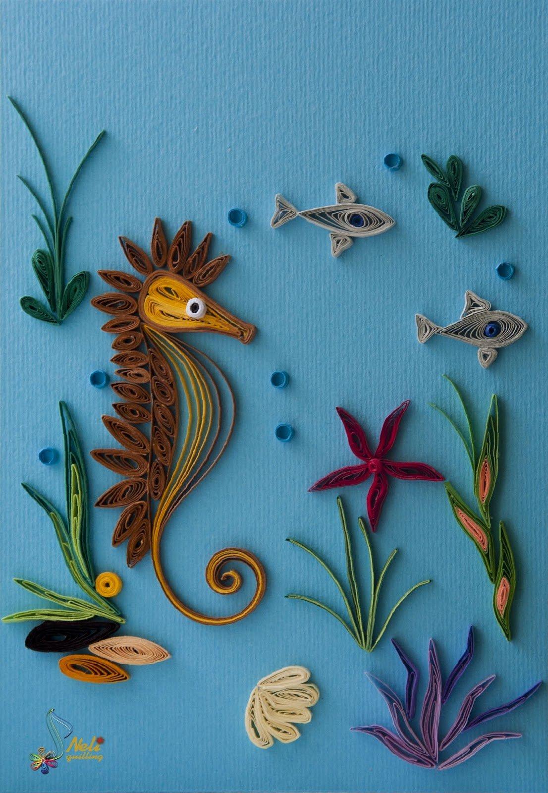 Квиллинг картинки для начинающих животные, красивых