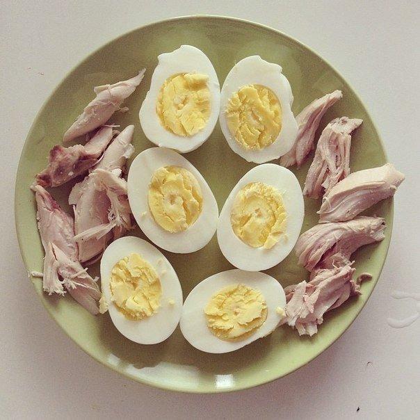 Безуглеводная Диета Яйца.