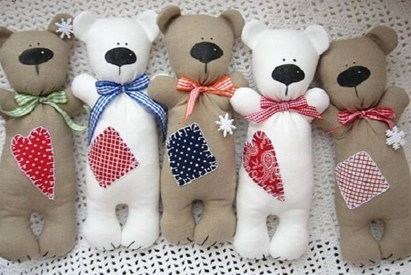 Медведи игрушки своими руками