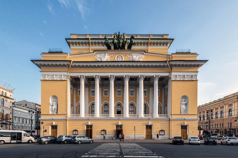 Александринский театр (Санкт-Петербург, Россия)