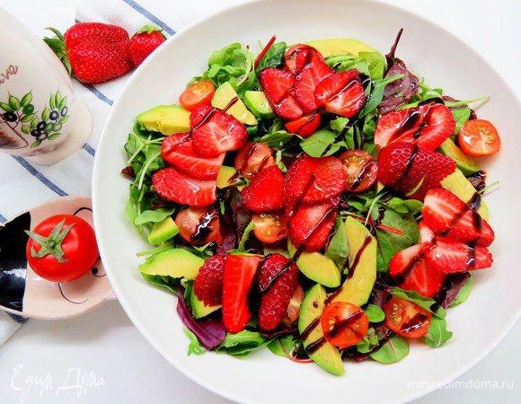 Классический итальянский салат Капрезе