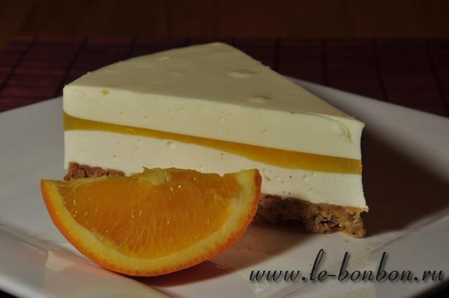 чизкейк без выпечки со сливочным сыром