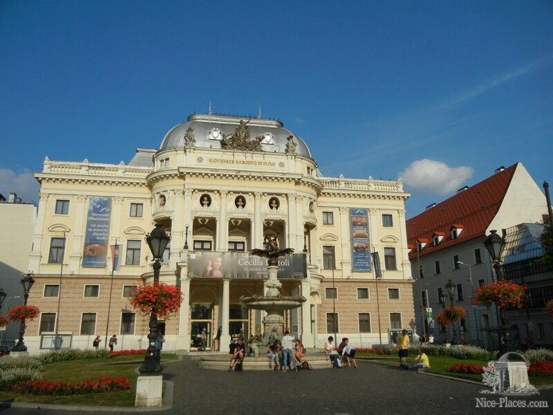 Здание Оперного театра в Братиславе