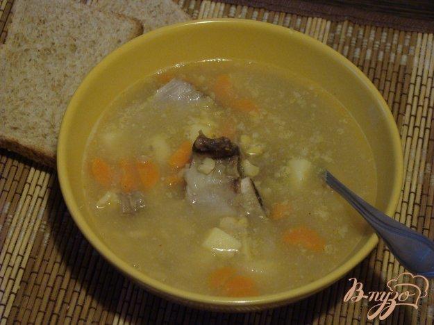 Суп из свиных косточек рецепт с фото