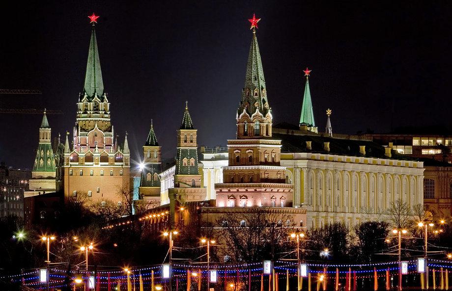 Фото кремль с новым годом