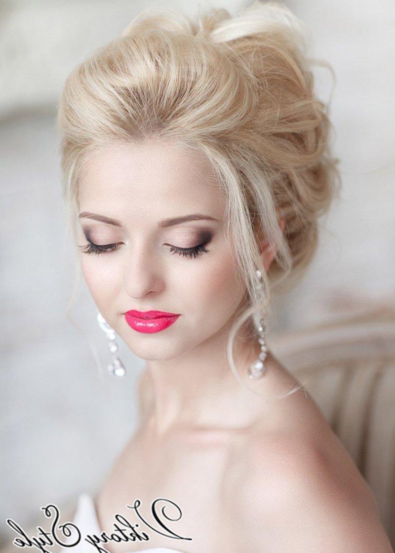 Свадебный макияж для блондинки 2017